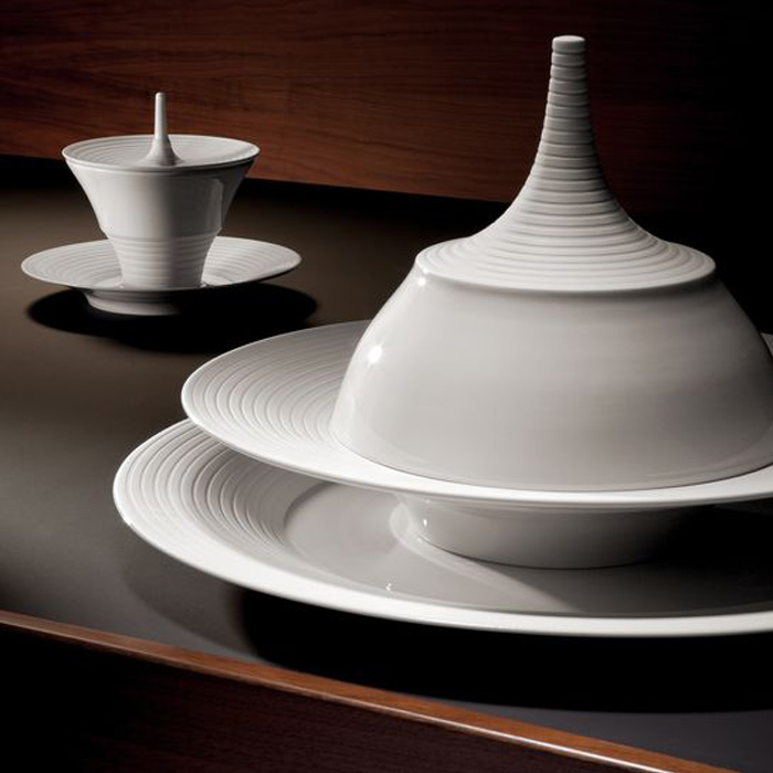 Hering Berlin Pulse tableware, available in Boston at Showroom