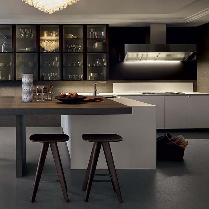 Showroom High End Modern Kitchen Design Varenna