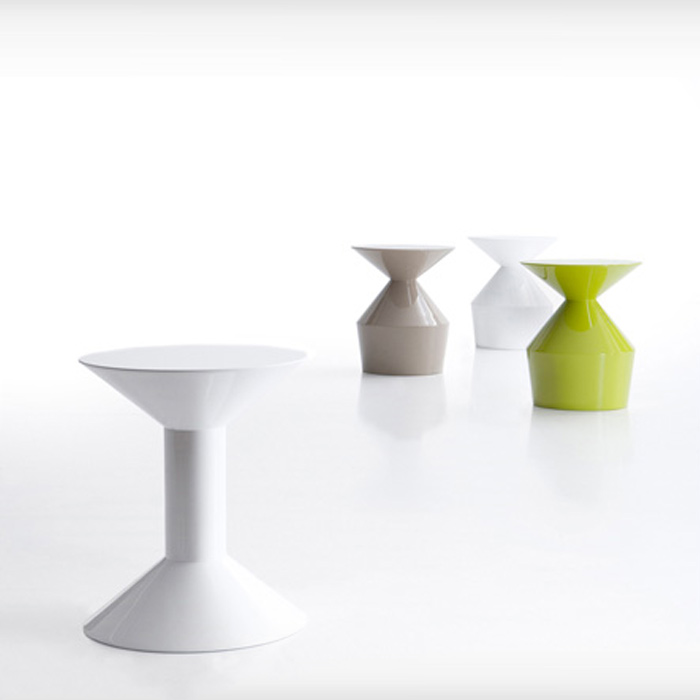Shape table by Viccarbe, available in Boston at Showroom